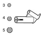 Насадка быстрой сварки для круглого прутка